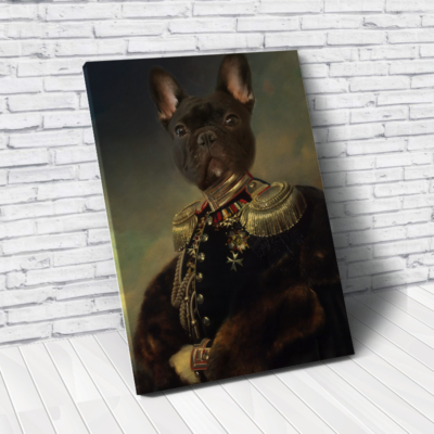 Custom Royal Pet Portrait