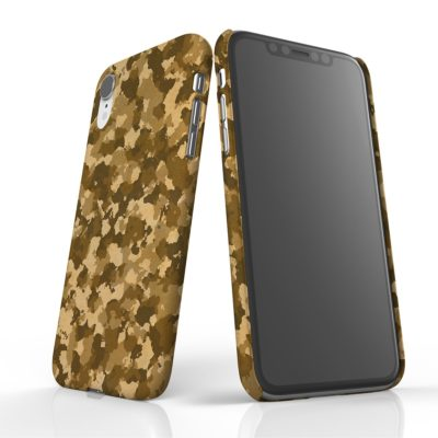 Desert Camo Phone Case. Supports Veterans!