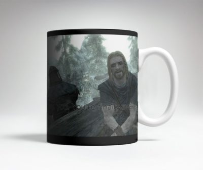 The Skyrim Heat Activated Prank Mug.