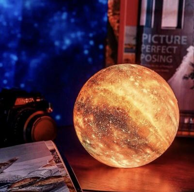 Color Changing Planet Lamp!