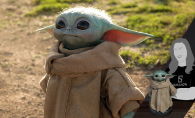 The Child Life-Size Figure of Baby Yoda