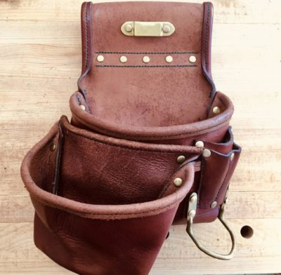 Handstitched Leather Tool Bag