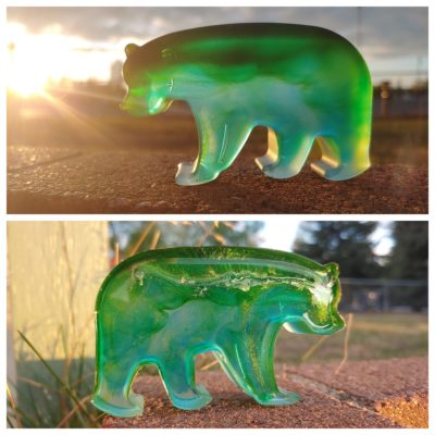 Northern Light Resin Bears made in Alaska