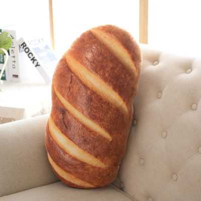 This way too realistic looking bread pillow.