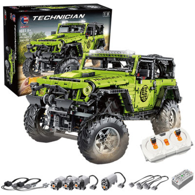 Technic Jeep Wrangler Rubicon Model with RC Motor