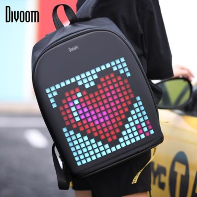 "Fully Customizable LED ""Pixel"" Screen Backpack. Bringing this to my next music festival once the world returns to normal!"