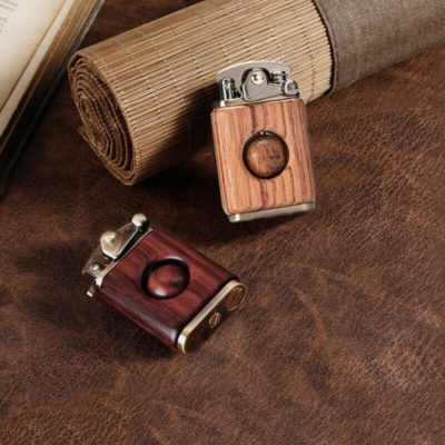 Kerosene Wooden Fancy Lighter