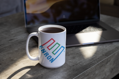 Investor Mugs Enron Funny Gag Mugs For Investors and Entrepreneurs