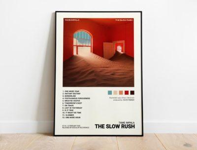 "Tame Impala – ""The Slow Rush"" Album Cover Poster Print"