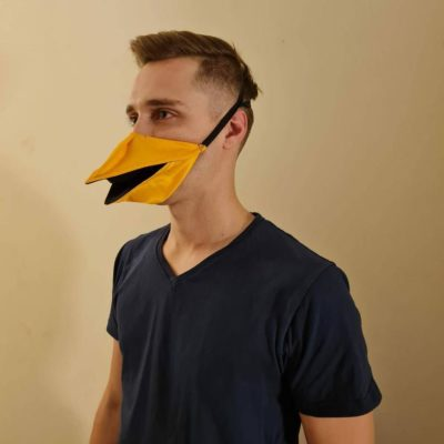 Talking Bird Beak Face Mask – bitchinnet