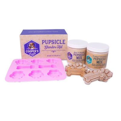 Pupsicle Mix – Dog treat mix to make healthy, delicious frozen treats for your best friend right at home!