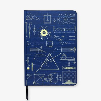 Science & Maths gifts using the original notes of Newton, Einstein, Curie et al.