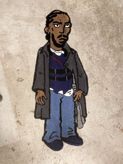 Omar From The Wire Rug